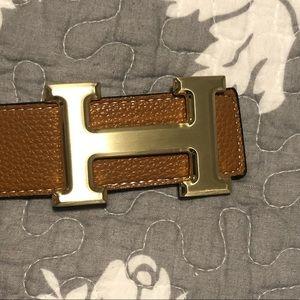 Hermès belt dupe